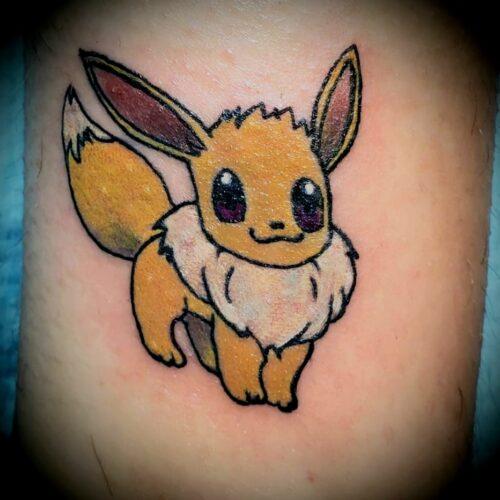 Chris Dorn Pokémon Tattoo