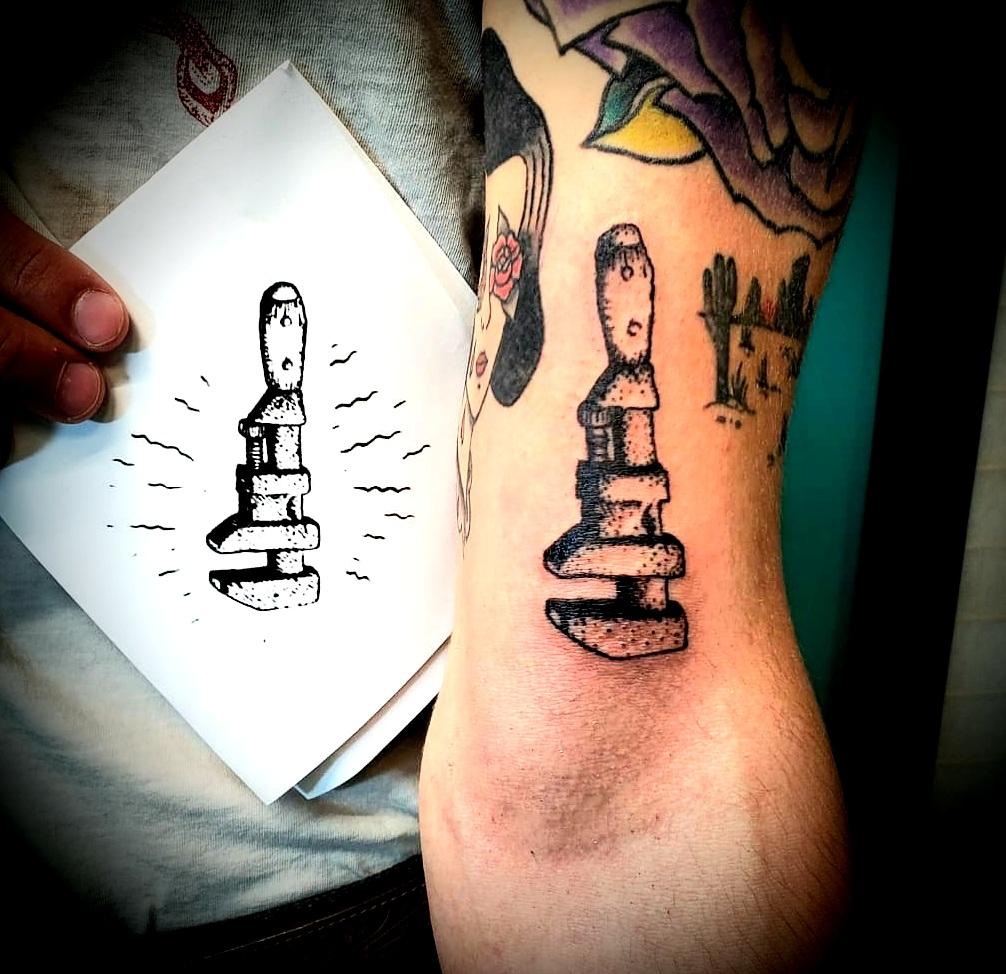 Chris Dorn Tattoo 2