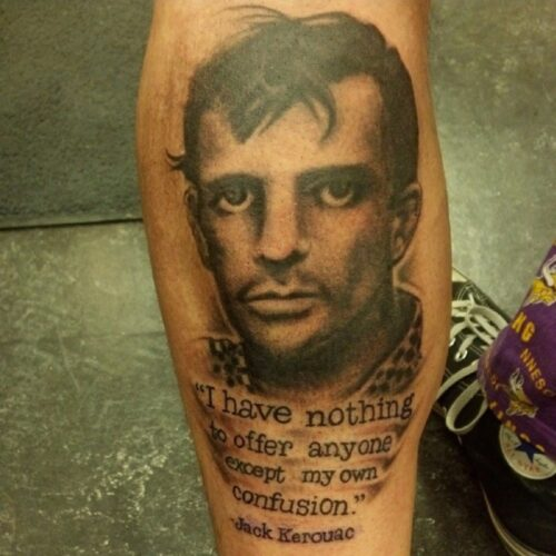 Portfolio tattoo by Karl Schneider